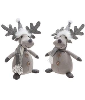 2 Asstd Reindeer