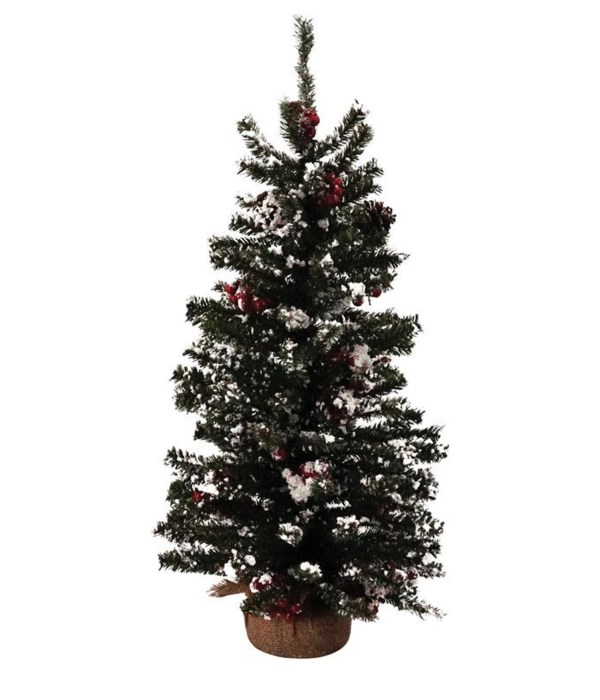 X-Lg Tree w/Red Berry
