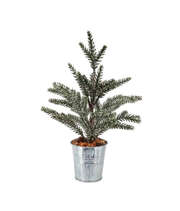 Tree w/Whitewash Bucket