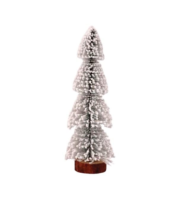 Lg Flocked Christmas Tree