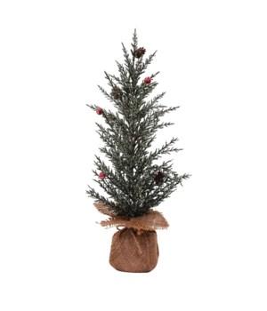 Lg Pine Tree w/Berries