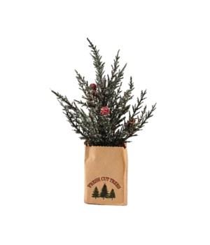 Sm Pine Tree w/Berries