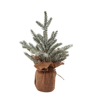Sm Frosted Pine Tree