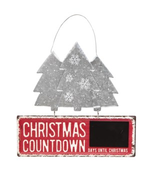 Christmas Countdown with Trees