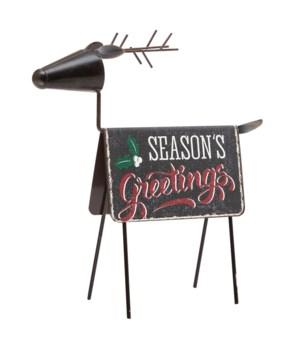 Seasons Greetings Deer Décor