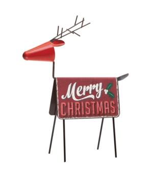 Merry Christmas Deer Décor