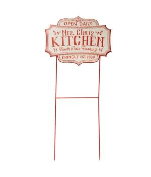 Mrs. Claus Kitchen Sign