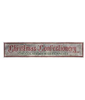 Christmas Confectionery Sign