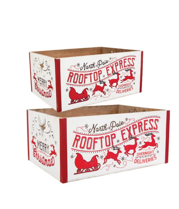S/2 North Pole Rooftop Express Buckets
