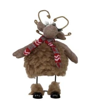 Sm Plush Fuzzy Wobble Moose