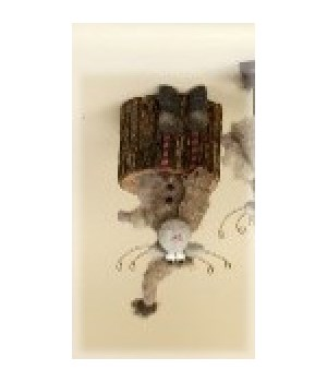Sm Furry Sitting Moose