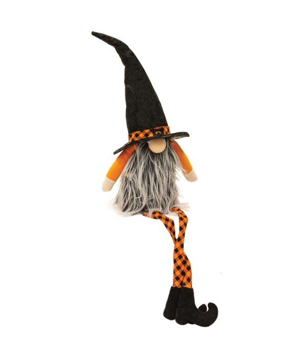 Large Dangle Leg Halloween Gnome