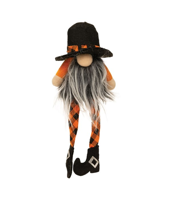 Small Dangle Leg Halloween Gnome