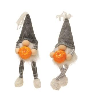 2 Asstd Gnome with Pumpkin