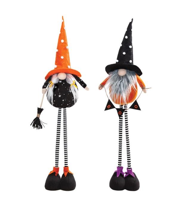 2 Asstd Standing Halloween Gnome