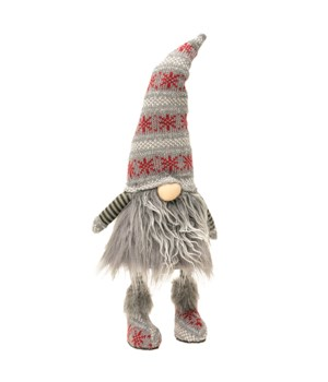 Gray Fur Wobble Gnome
