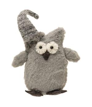 Plush Grey Owl