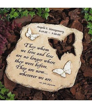 WHEREVER WE ARE GARDEN STONE BOXED