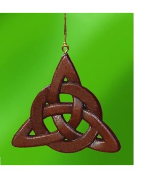 TRINITY KNOT ORNAMENT W/CARD GIFT BOXED
