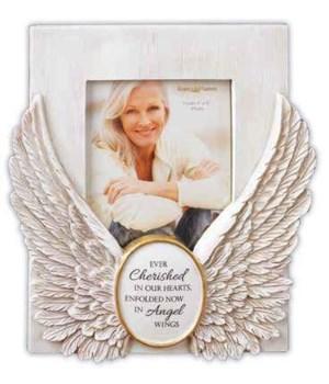 ANGEL WINGS MEMORIAL FRAME BOXED