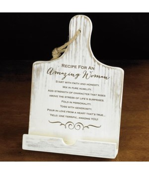 AMAZING WOMAN BOOK HOLDER BOXED