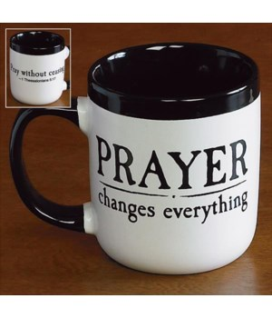 PRAYER CHANGES EVERYTHING MUG BOXED