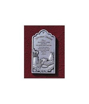 KITCHEN PRAYER PLAQUE W/EASEL BOXED