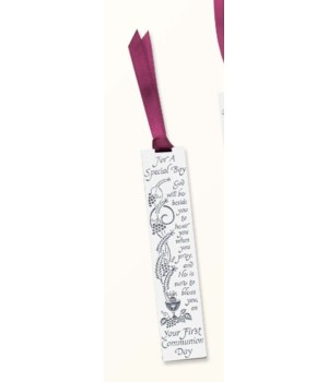BF SPECIAL BOY COMM BOOKMARK W/RIBBON CARDED INDIV BAG