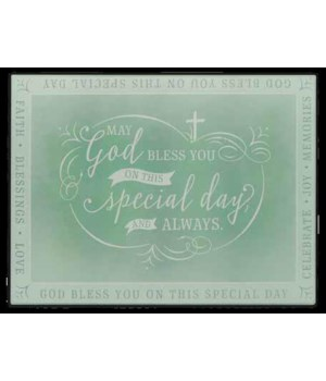 SPECIAL DAY CAKE BOARD DOUBLE BOXED 15 5/8 in.   x 11 3/4 in.   x5/32 in.