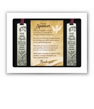 SPONSOR BOOKMARK GIFT SET GIFT BOXED W/CARD