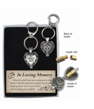 SE ALWAYS HEART ASH KEY RING GIFT BOXED W/CARD