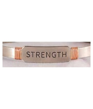 NS STRENGTH CUFF W/COPPER WIRE GIFT BOXED