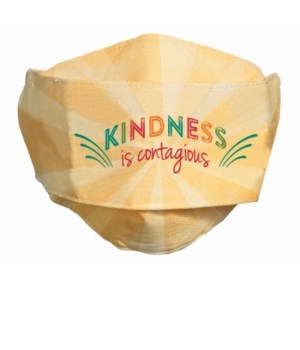 KINDNESS IS CONTAGIOUS FACE MASK INDIVIDUALLY BAG