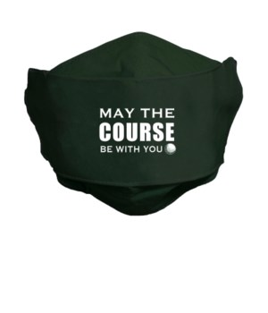 COURSE BE W/YOU FACE MASK INDIVIDUALLY BAG