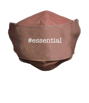 ESSENTIAL CORAL FACE MASK INDIVIDUALLY BAG