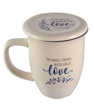 DO SMALL THINGS MUG & COASTER SET BOXED