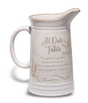 AT OUR TABLE PITCHER BOXED 32 OZ CAPACITY