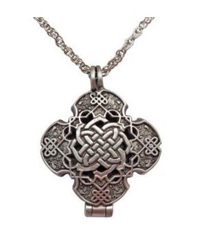 PEWT CELTIC KNOT PRAYER LOCKET GIFT BOXED W/CARD