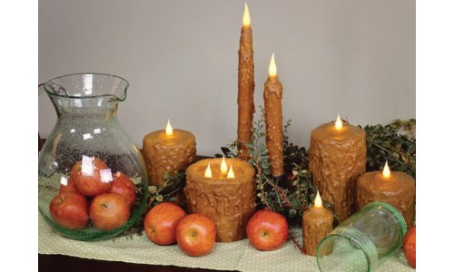 MC HAND WAXED CANDLES