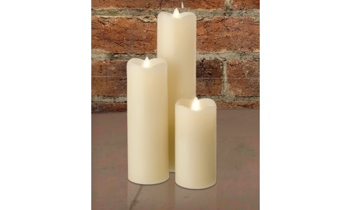 SERENE SLIM LED WAX CANDLES