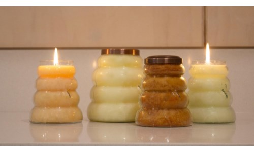 BEEHIVE CANDLES 14 OZ
