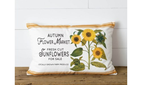 AUTMN FLOWERS & PUMPKINS
