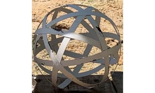 Cream Metal Band Sphere-L