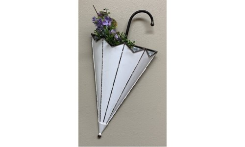 Cream Dist Metal Umbrella