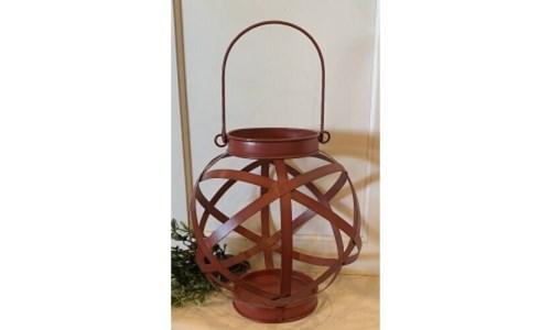 Burgundy Sphere Lantern