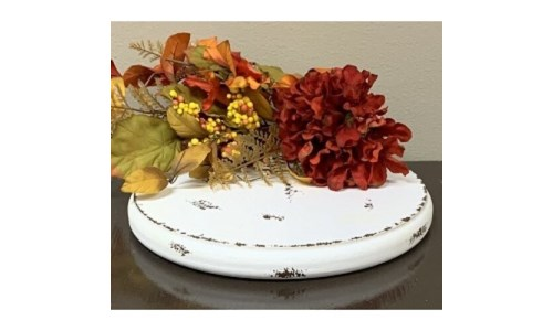 Crm Dist Single Candle Plate L
