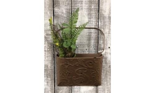 Br Ornate Dist Pocket Hanger