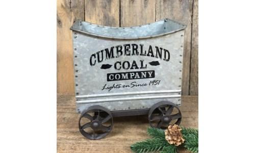 Cumberland Coal Mine Car 7 x 4 in.