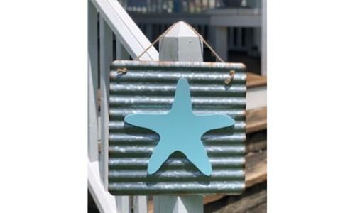 Corrugated Starfish Hanger