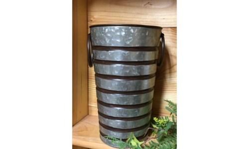 Copper Stripe Container Tall